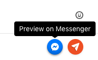 The Preview on Messenger button
