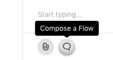 Composing a flow button